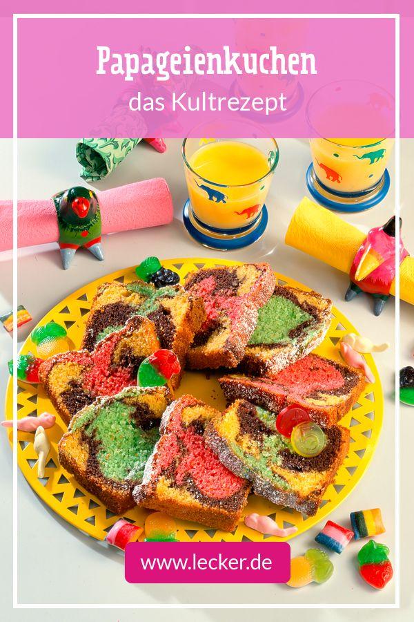 Papageienkuchen Rezept In 2019 Geburtstag Desserts Rezepte Und