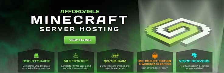Start your own Minecraft server at an affordable price! 24/7 support, modpack…
