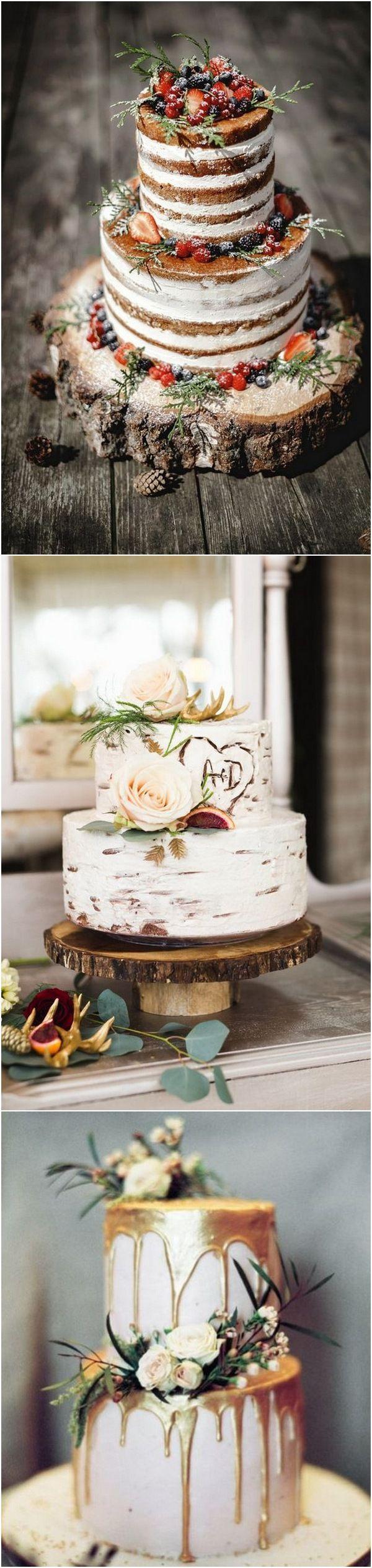 Herbst Hochzeitstorten für 2018 Trends 2   – Hochzeit