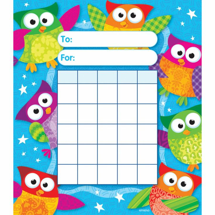 sticker charts | Home › General Resources › Rewards and Incentives › Individual ...