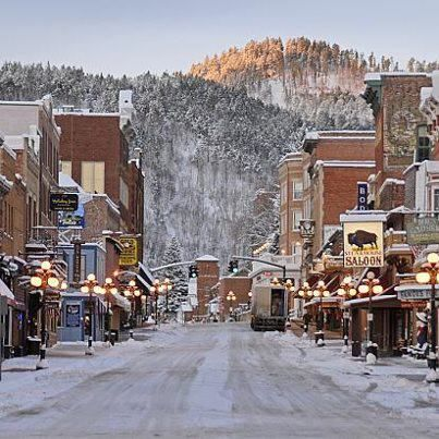 Deadwood, South Dakota. Discovery of gold in 1874 set off one of the last great…