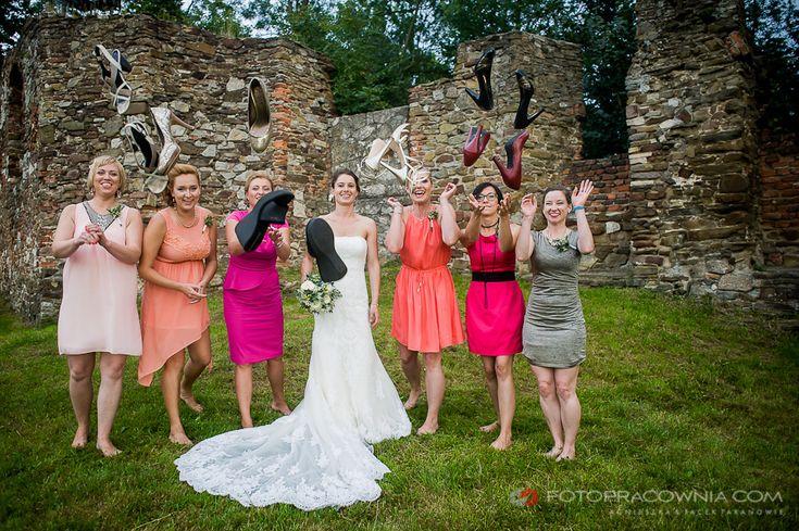 slub w plenerze, outside wedding, outdoor, wedding, fotografia slubna, toszek, zamek, wedding photography, castle, jacek taran, fotopracownia;