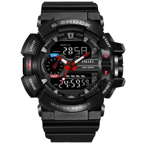 2016 famous brand waterproof round rubber fashion casual g style digital sport watches for men relojes deportivos para hombres
