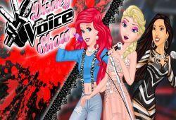 Juego Princesas Disney en La Voz Gratis