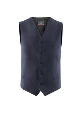 Gilet de costume homme 1221 est un vêtement de travail confortable pour les professionnels de l'aviation, de la restauration, Plus de modèles sur spiq.fr