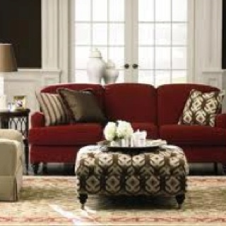Image Detail For Red Sofa Living Room Eclectic Home Decor Ideas Revisited