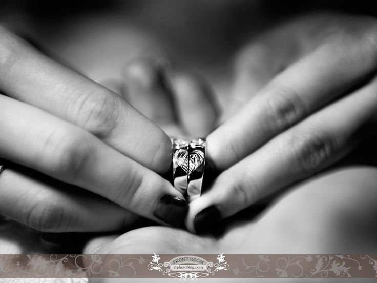 The couples fingerprint ring! Photo by: Front Room Photography.