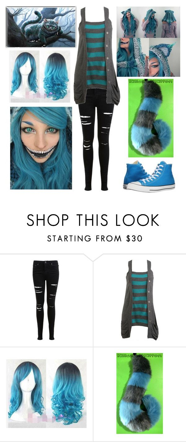 """Modern Female Cheshire Cat (2010 Alice in Wonderland version)"" by shadow-cheshire ❤ liked on Polyvore featuring Miss Selfridge, Wet Seal, Burton, Converse, modern, women's clothing, women, female, woman and misses"