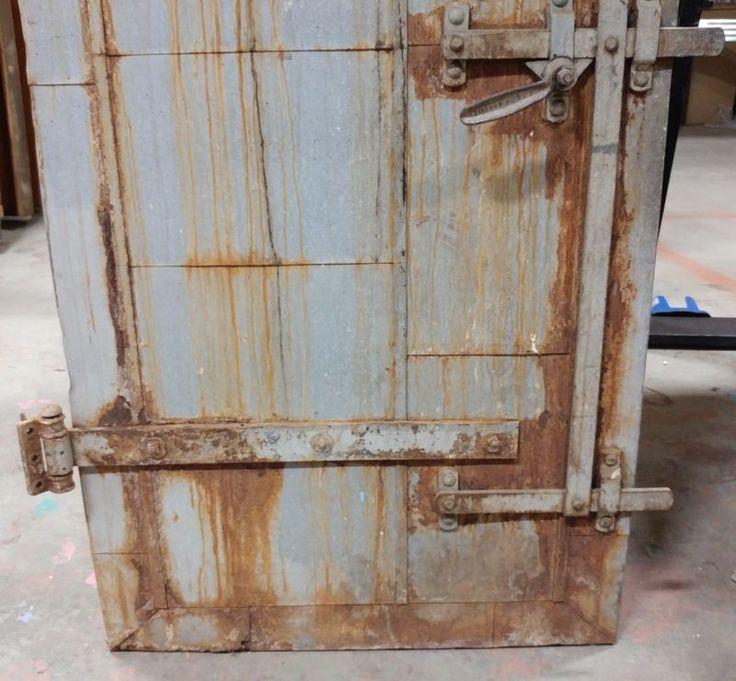 Vintage Industrial Fire Doors : Best vault doors ideas on pinterest safe door