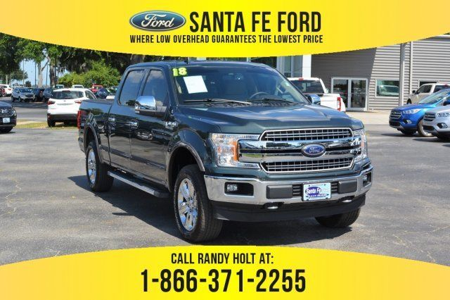 Used 2018 Ford F 150 Lari 4x4 Truck For Sale Gainesville Fl