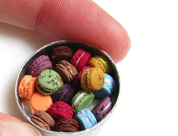 Realistic Miniature Clay Food