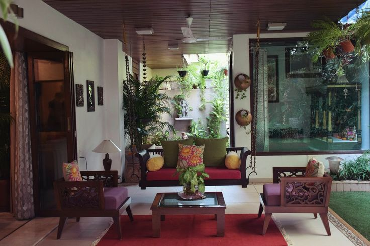 Alpavi and Utpal's home in Ahmedabad featured in Apartment Therapy is a veritable treasure trove. But this is my favourite space in the entire house.