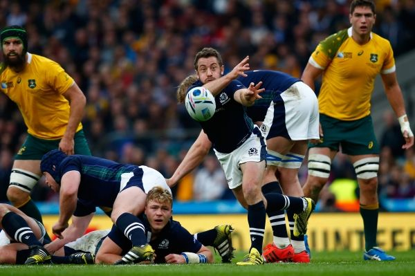 SCOTLAND captain Greig Laidlaw has told of his pride at being nominated for World Rugby's Player of the Year award.