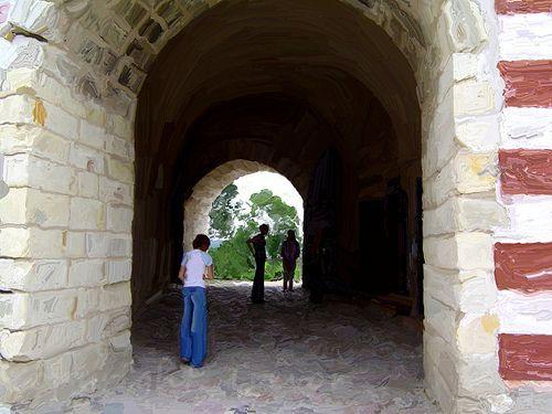 Janowiec Castle Tunnel