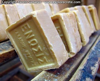 Olive Oil Soap made in Crete