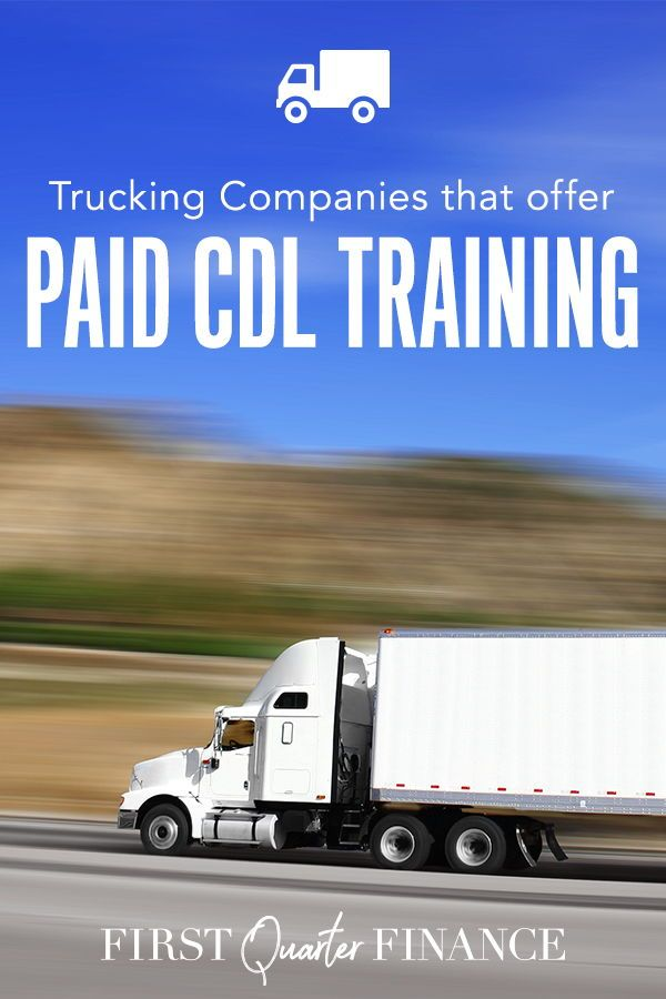 7 Large Trucking Companies That Offer Company Paid Cdl Training Truck Driving Jobs Trucking Companies Learn A New Skill
