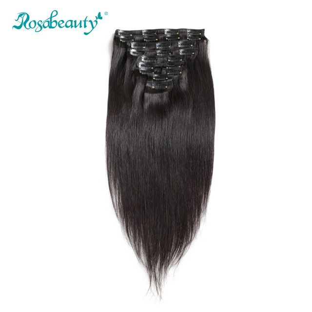 140G Clip In Hair Extensions straight★ Quality product and excellent customer service.★ Ships to more than 200 countries and regions, such as USA, UK, AUSTRALIA.