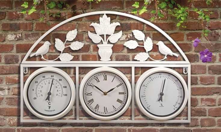Upto 61% OFF on Garden Clock And Weather Station at Groupon.