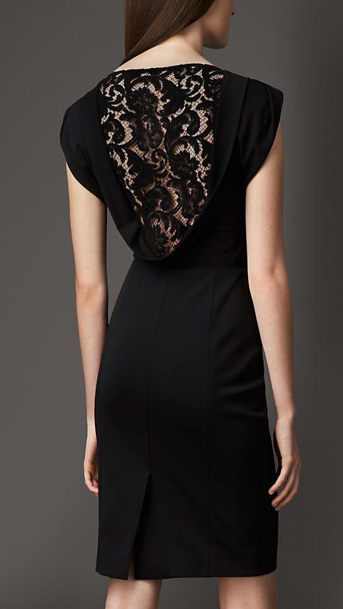 Burberry London Lace Back Dress