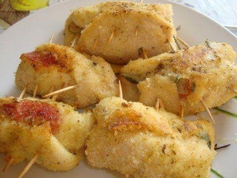 petti di pollo ripieni con prosciutto cotto e formaggio- Cooking with Josephine Romano - YouTube