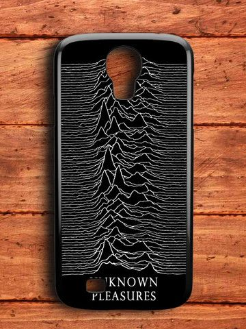 Joy Division Unknown Pleasure Samsung Galaxy S4 Case