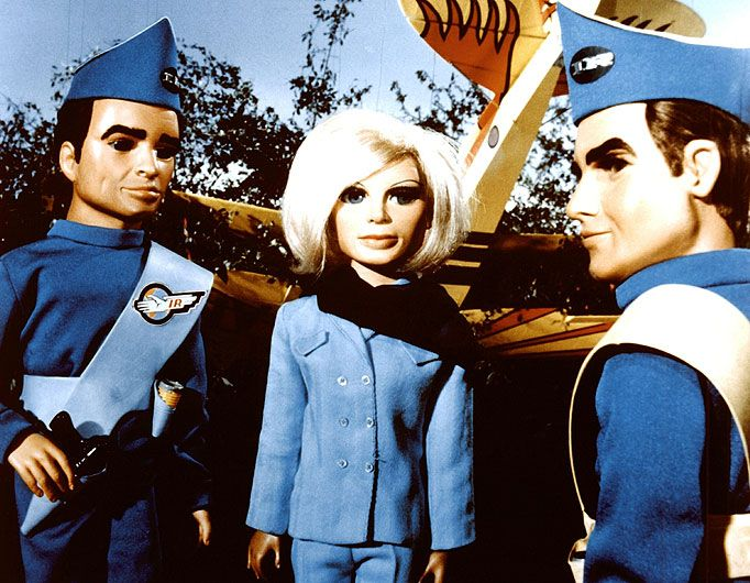 Scot, Lady Penelope and Virgil - Thunderbirds