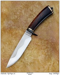 Kyle Royer Knives, Clever, Missouri USA - Hunter