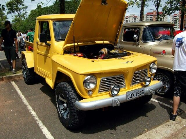 Picape Willys 1966