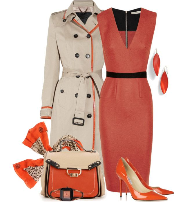 """""""Business Style in Orange"""""""