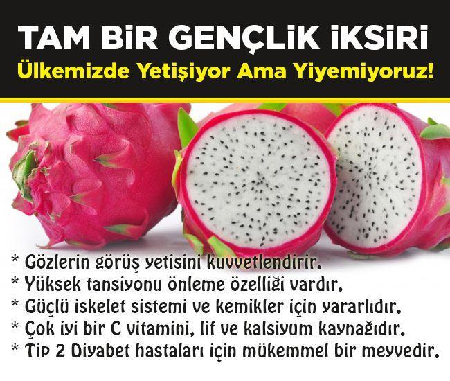 Ülkemizde Yetişiyor Ama Yiyemiyoruz! Bunu Yiyen Yaşlanmıyor.. #pitaya #sağlık #saglik #sağlıkhaberleri #health #healthnews @saglikhaberleri