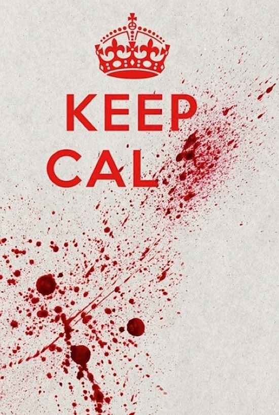 Keep calm via forever until the end