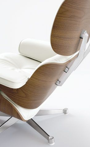 gorgeous details on the Eames lounge chair. One day I'll buy one!