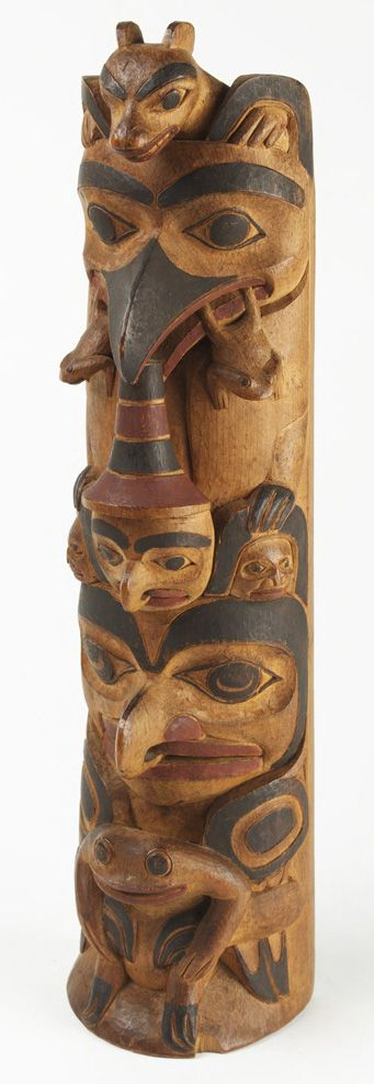 Charles Edenshaw (1839–1920) was a Haida artist from Haida Gwaii, British Columbia, Canada. He is known for his woodcarving, argillite carving, jewellery, and painting.
