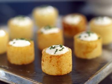 Aardappeltjes met bieslookroom