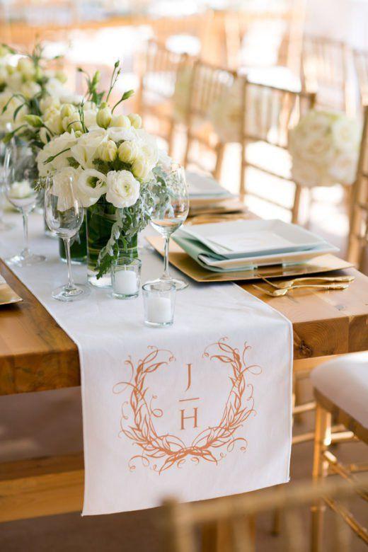 Monogrammed Wedding