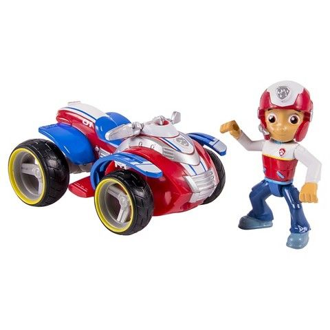 Paw Patrol Ryders Rescue ATV Vehicle and Figure