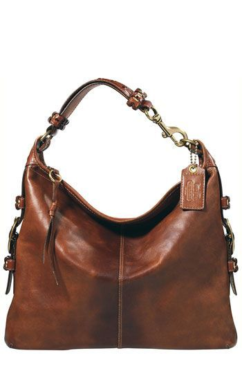 COACH FELICIA LEATHER EXTRA LARGE SLIM DUFFLE available at Nordstrom
