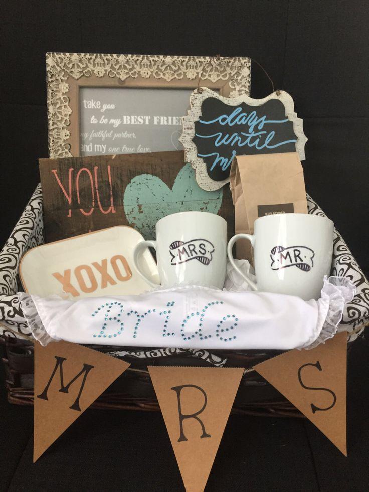 Best Wedding Gift Basket : Bridal Gift Basket, Bridal shower gift basket, gifts for bride, bride ...