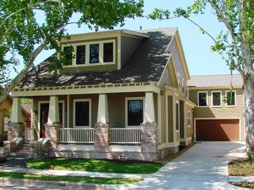 ***A color we both agree on! Heights Bungalow/Craftsman craftsman exterior jh custom homes