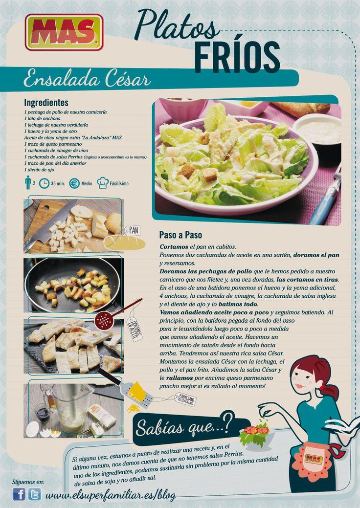 Ensalada César | Supermercados MAS Blog