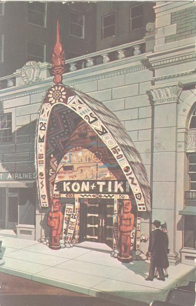 Kon Tiki Restaurant   Montreal