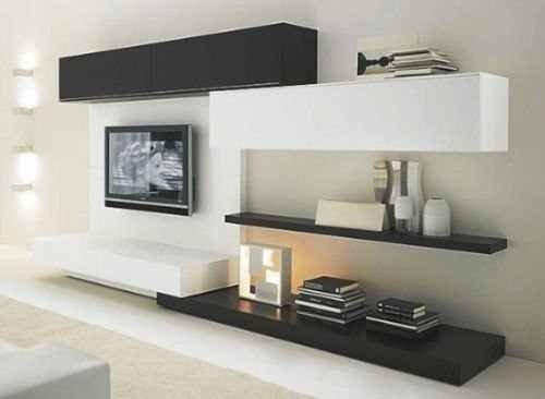 Las 25 mejores ideas sobre rack para lcd en pinterest for Modelos de muebles para tv modernos