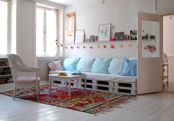 21 praktische Ideen für selbstgebaute Möbel aus Holzpaletten