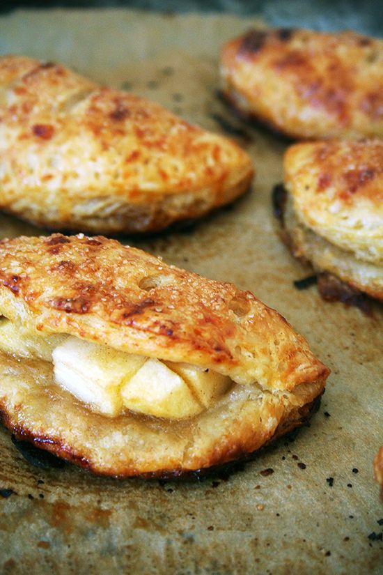 For Jessica ; )  Apple Hand Pies with Cheddar Crust— So Delicious!
