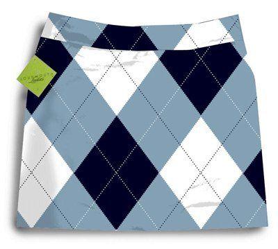 Loudmouth Golf Womens Skorts: Blue &...