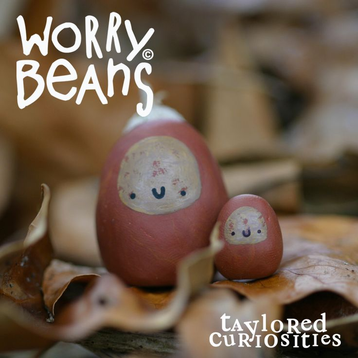 Acorn Worry Beans and Beanlets! Available from my store now www.tayloredcuriosities.bigcartel.com    Copyright protected.