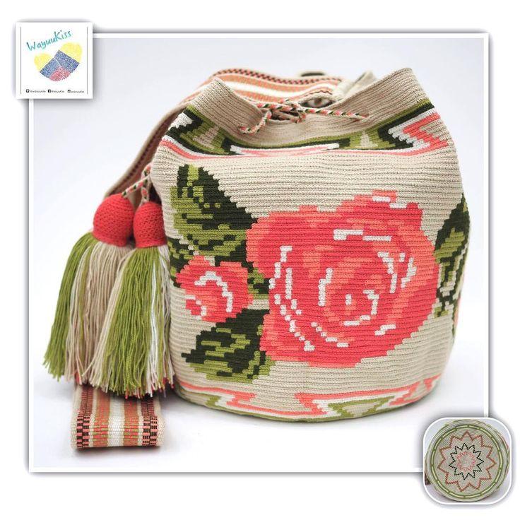 13 отметок «Нравится», 1 комментариев — Wayuu Bags &Bikini etc. (@wayuukiss) в Instagram: «Wayuu bag one strand รุ่น Rose collection Premium quality ⭕️Sold out⭕️ •ฐาน 9นิ้ว สูง 11นิ้ว…»
