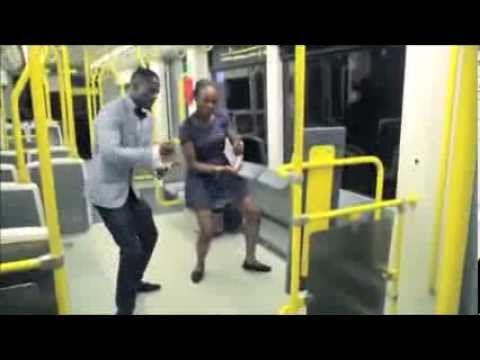 Young Black Couple Having Innocent Fun! I LOVE IT!!!!