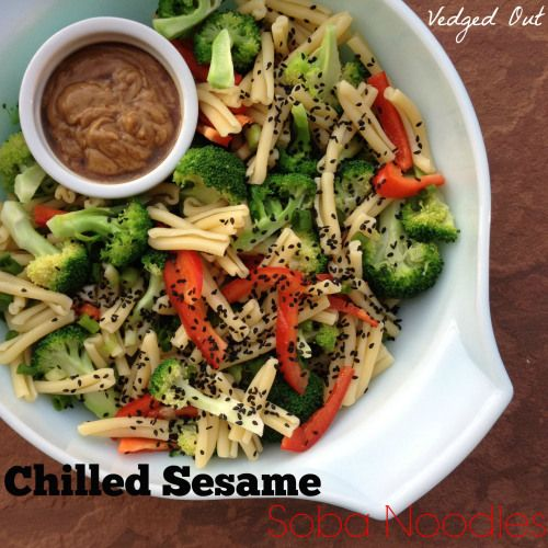 Chilled Sesame Soba Noodles from Everyday Vegan Eats by Zsu Dever. Photo by Vedged Out