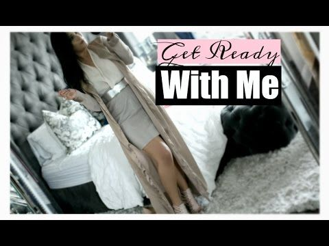 Get Ready With Me! Dinner Party Outfit Makeup & Hair! MissLizHeart